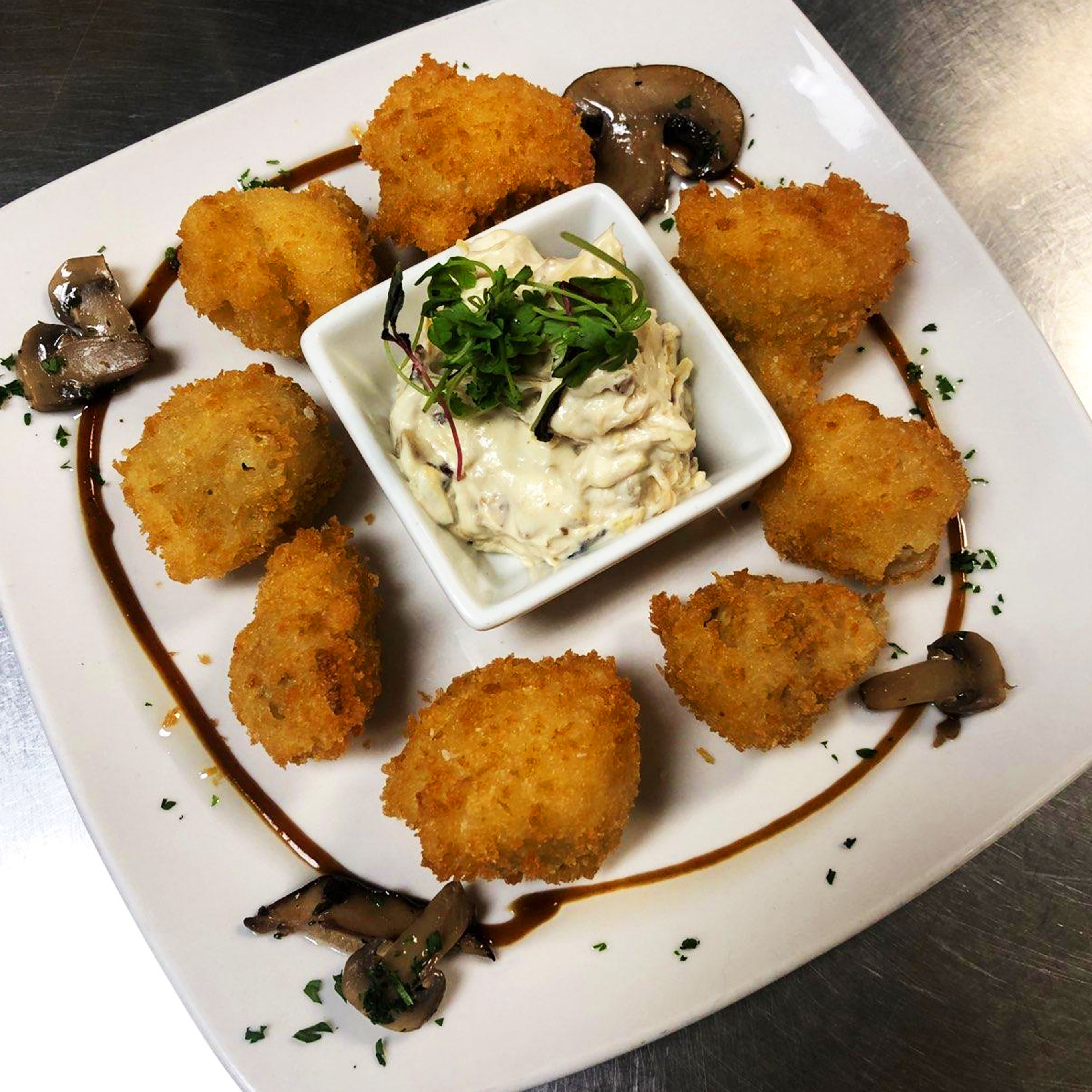 Fried Truffle Mushrooms