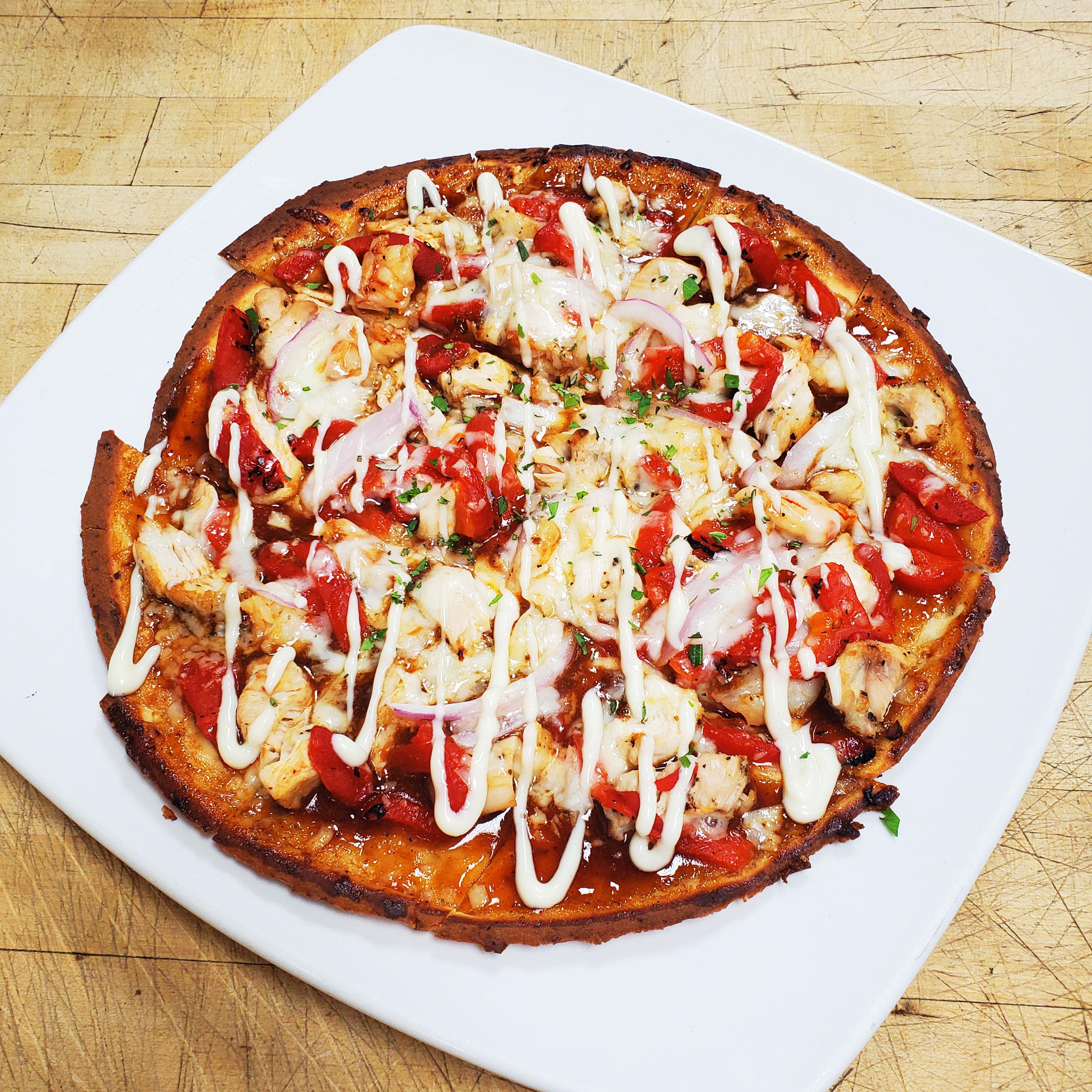 Shrimp & Chicken Flatbread